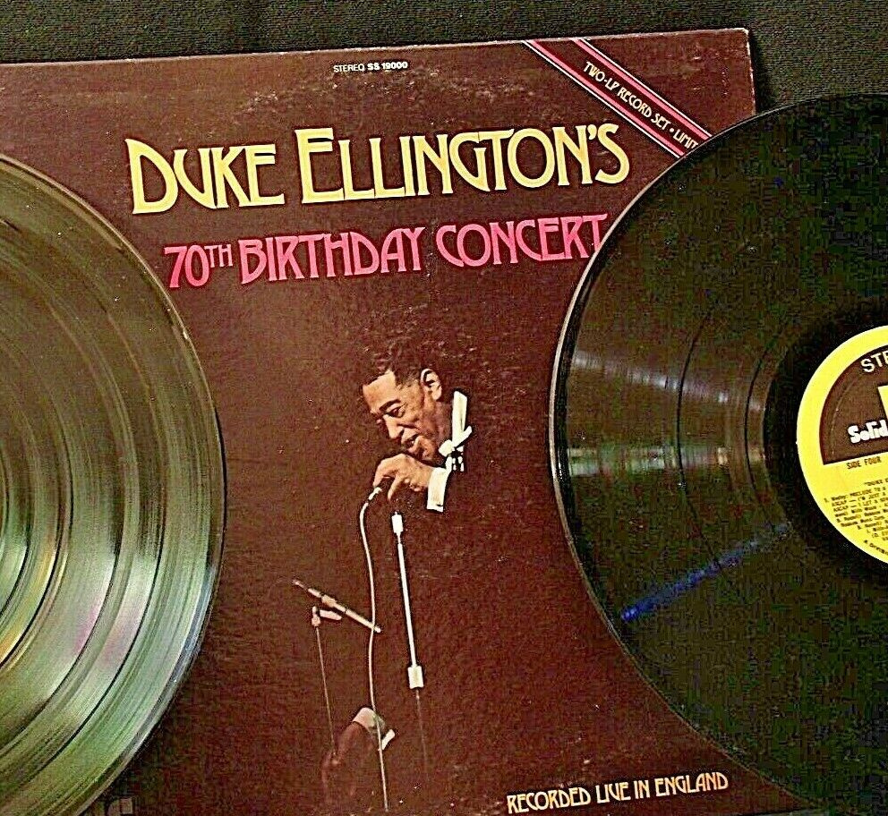 Duke Ellington's 70 Birthday Concert Record AA-192025 Vintage Collectible