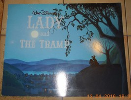 "Disney Lady and The Tramp Set of 4 Lithographs 11"" x 14"" Complete in Folder - $46.75"