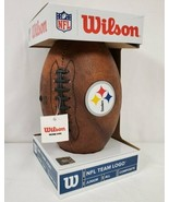 NEW Wilson NFL Pittsburgh Steelers Junior Composite Football - $19.79