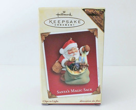 Hallmark Keepsake 2005 Santa's Magic Sack Ornament NIB Exclusive Gift - $5.45