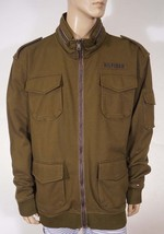 Tommy Hilfiger Men's Soft Cotton Green Military Filed Hooded Jacket Coat... - $63.99