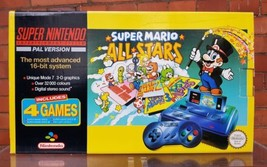 SUPER MARIO ALL STARS SET,SUPER NINTENDO CONSOLE,SUPER MARIO ALLSTARS SE... - $1,199.99