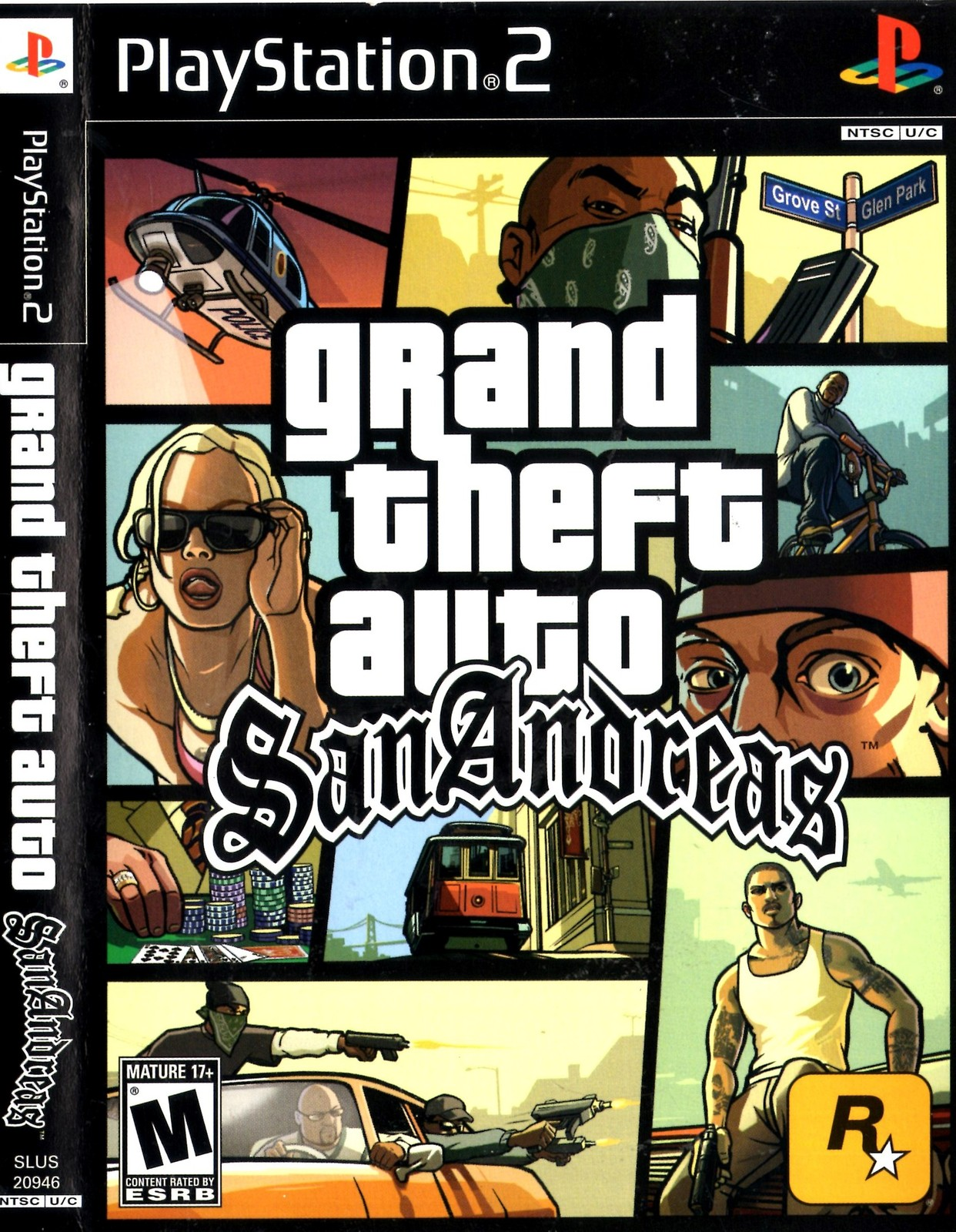 Primary image for PlayStation 2 - Grand Theft Auto San Andreas