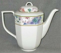 Mikasa Gallery Country Chintz Pattern Five Cup Coffee Pot Made In Japan - $49.49