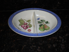 Wedgwood Sarah's garden divided oval serving bowl - $44.50