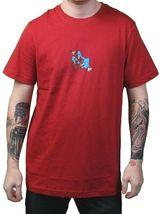 Dunkelvolk Hommes Chili Rouge Zoombi Zombi Péruvien Artistes T-Shirt Nwt image 3