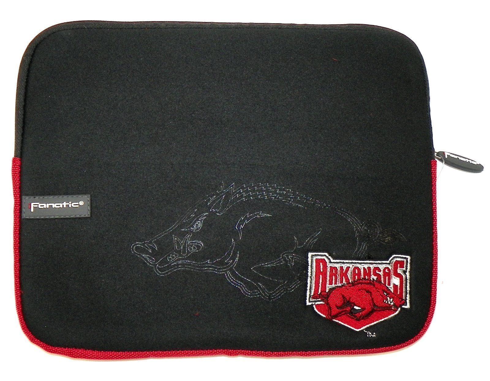 "Arkansas Razorbacks Tablet Computer Sleeve Case Soft Top Universal 11"" x 8.5"""