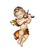 Cherub with Violin Wooden Statue Decoration Ornament Sacred Religious Statues - $34.90 - $148.90