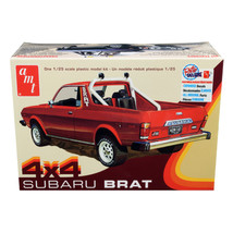 Skill 2 Model Kit 1978 Subaru BRAT 4x4 Pickup Truck 1/25 Scale Model by ... - $46.85