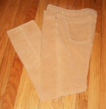 CALVIN KLEIN Thin Wale Ultimate Skinny Camel Jeans - $29.99