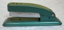 Vintage Swingline Cub Blue Green Stapler Works Well Small Retro Long Island T17 - $18.32