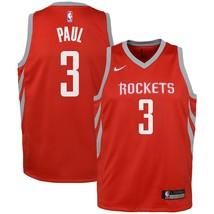Nike NBA Youth Chris Paul Official Swingman Jersey Dri-Fit Houston Rockets - $39.99