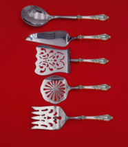 Eloquence by Lunt Sterling Silver Brunch Serving Set 5-Piece HH WS Custom Made - $459.00