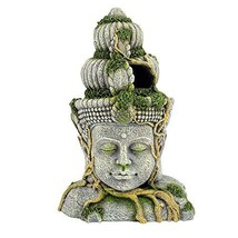 Sunyiny Aquarium Decorations Head Sculpture Aquarium Decor Ornament - $34.79