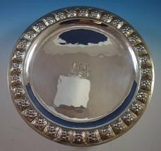 Desert Rose by Sanborns Mexican Sterling Silver Serving Platter Round (#1713) - $1,583.10