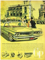 Vintage 1962 Magazine Ad Pontiac Civilized Well Mannered But a Tiger At Heart - $5.93