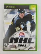 EA Sports NHL 2002 (Microsoft Xbox, 2001) Complete w/ Manual - Tested Working - $5.99