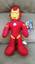 AVENGERS ASSEMBLE IRON MAN Brand New Licensed Plush Marvel NWT With Tags... - $11.99