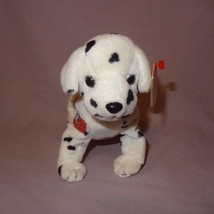 "Rescue Dalmatian Dog 2001 Ty Beanie Babies Plush Stuffed Animal 7"" long ... - $9.99"
