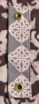 Mandolin Strap Adapter/Use Your Guitar Strap For Banjo/Celtic Knot Print - $5.99