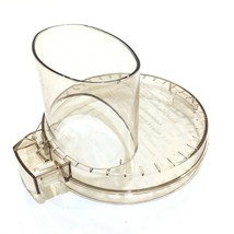 Cuisinart DLC-10 Food Processor Amber Work Bowl Lid DLC-117B Replacement... - $34.99