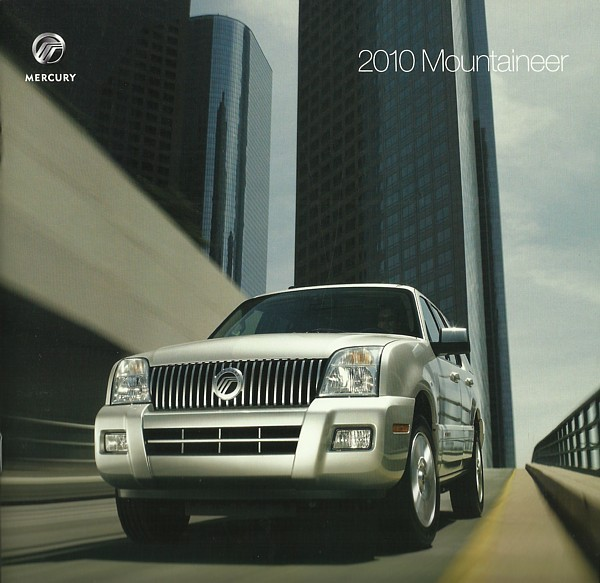 Primary image for 2010 Mercury MOUNTAINEER brochure catalog US 10 Premier