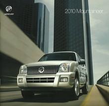 2010 Mercury MOUNTAINEER brochure catalog US 10 Premier - $10.00