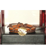 Vintage Style Adjustable Capricorn Leather Brac... - $6.93
