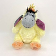Disney Store Eeyore Easter Chick Yellow Plush Winnie the Pooh Stuffed An... - $29.69