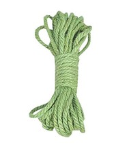 DRAGON SONIC 1PC 49 Feet 6mm Green Natural Jute Twine String Rope for Cr... - $13.86