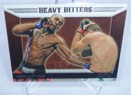 2011 Topps UFC Moment Of Truth Jon Jones Heavy Hitters Card #ES-JJ - $9.89