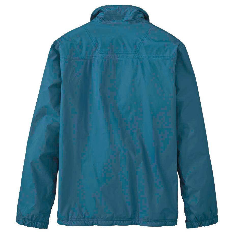 Timberland Men's MT. Crescent Fleece Lined Waterproof Teal Blue Jacket 8719J