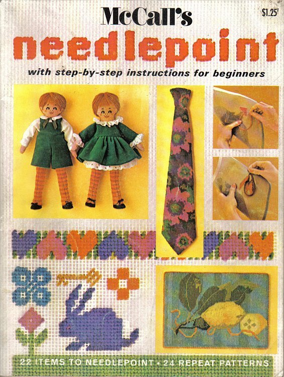 McCall's Needlepoint for Beginners Book 2 - $7.99