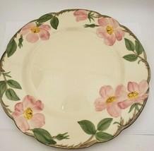 "4 Vintage Franciscan Desert Rose 10 1/2"" Dinner Plates - $49.00"