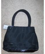 Black Shimmers Small Purse Handbag Cosmetic Bag... - $10.00