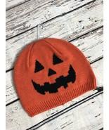 NWT! Gymboree Fall Halloween Jack-O'-Lantern Pumpkin Baby Knitted Beanie... - $11.63