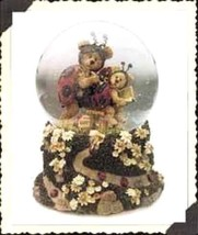 "Boyds Bearstone Waterglobe ""Tweedle Bedeedle"" Musical Waterglobe- #270555-1E-NEW - $39.99"