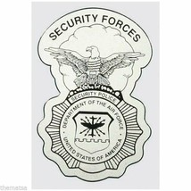 "AIR FORCE SECURITY FORCES POLICE BADGE MILITARY 5"" DECAL - $15.33"