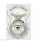 """AIR FORCE SECURITY FORCES POLICE BADGE MILITARY 5"""" DECAL - $15.33"""