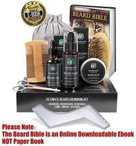 Lionbeard Beard Growth Grooming & Trimming Kit for Men Dad Beard Care - Beard Sh image 2