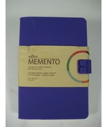 Waff MEMENTO Journal SOFT SILICONE COVER - 210 Lined Pages - New - $14.80