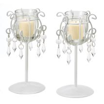 CRYSTAL DROP VOTIVE STANDS - $21.95