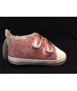 NWT So Dorable Infant Girls Sparkly Pink Sneakers Size 2 - $4.95