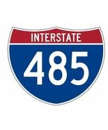 Interstate 485 Sticker R2302 Highway Sign Road Sign - $1.45+
