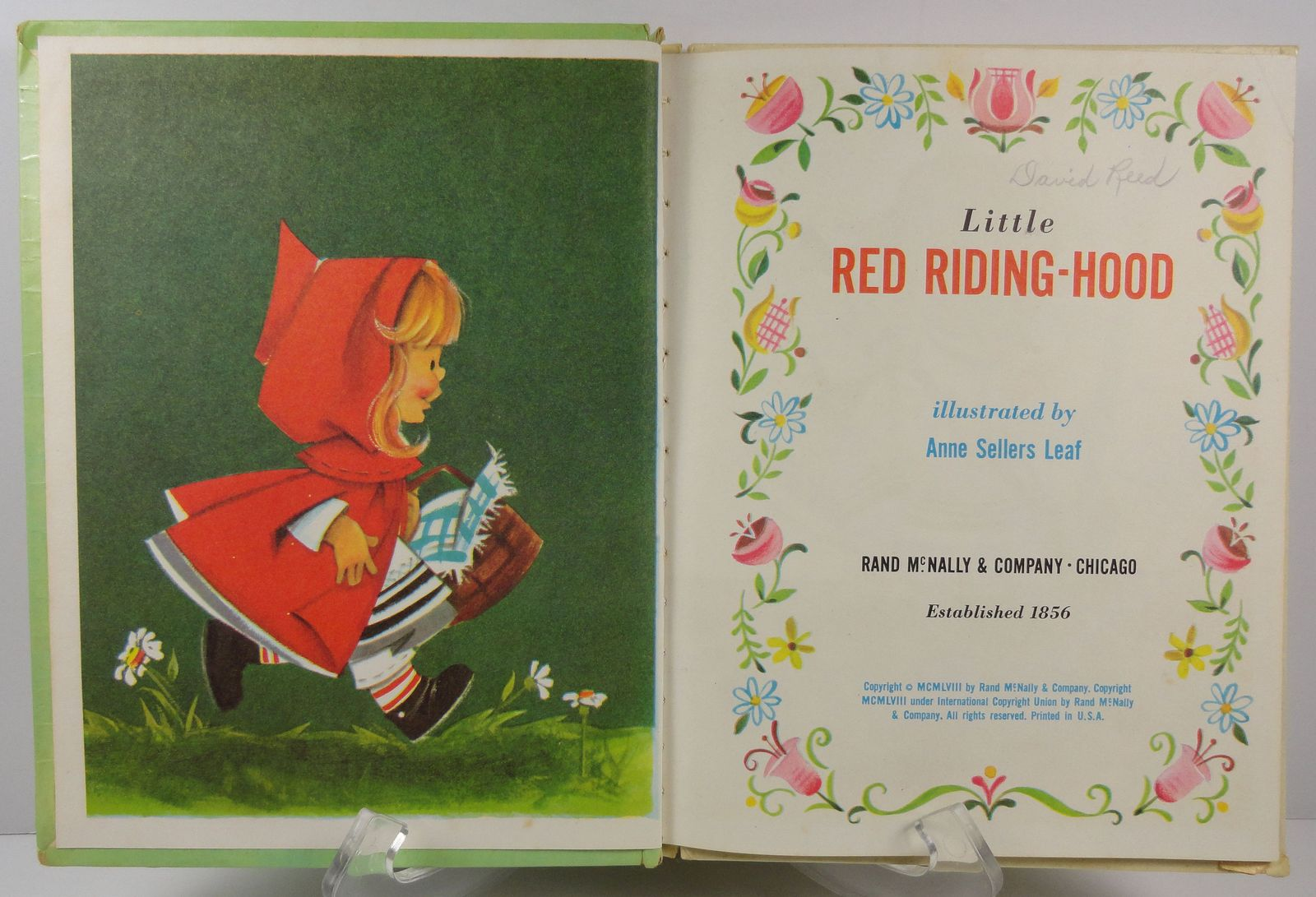 Little Red Riding Hood Tip-Top Elf Book