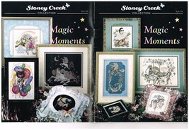 MAGIC MOMENTS  - STONEY CREEK CROSS STITCH BOOK - $9.85