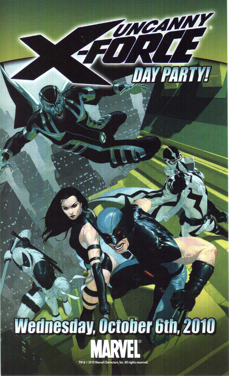 UNCANNY X-FORCE Promo Ad by MARVEL