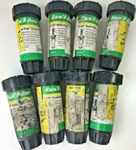 "8 x RAIN BIRD SP25-Q Quarter Circle Sure Pop Up Sprinkler Spray Heads 2 1/2"" - $16.88"