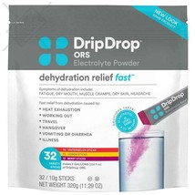 DripDrop ORS Electrolyte Hydration Powder Sticks Variety Pack (12 Lemon/... - $44.54
