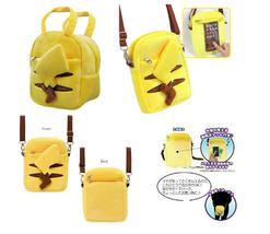 Pokemon Pouch Plush Pochette Pikachu bag - $41.58